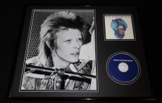 David Bowie 16x20 Framed Best Of CD & Photo Display