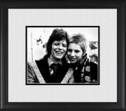 """David Bowie & Angie Bowie Framed 8"""" x 10"""" Photograph"""