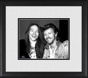 "David Bowie & Axl Rose Framed 8"" x 10"" Photograph"