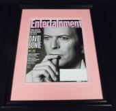 David Bowie Framed 11x14 ORIGINAL 2016 Entertainment Weekly Cover