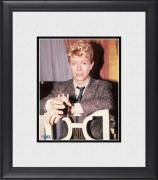 """David Bowie Framed 8"""" x 10"""" In Chair with Glass in Hand Photograph"""