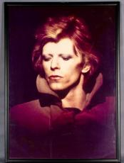 David Bowie Framed 24×36 Display- From Famed Pittsburgh Photographer