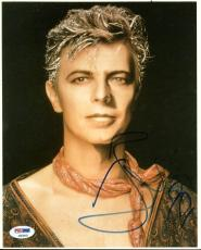 David Bowie Signed 8X10 Photo Autographed PSA/DNA #AB04449