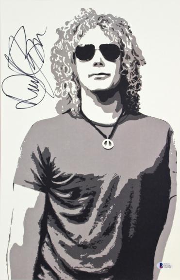 David Bryan Bon Jovi Signed 11x17 Lithograph Autographed BAS #E44252