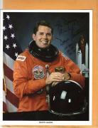 David C. Leestma-signed photo - COA - Pose 7