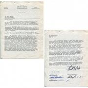 David Carradine Keith Carradine & Barbara Hershey Autographed Get Out Alive Contract
