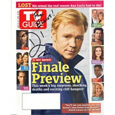 David Caruso Autographed 8x10 Magazine Cover