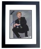 David Caruso Signed - Autographed CSI Miami 8x10 inch Photo BLACK CUSTOM FRAME - Guaranteed to pass PSA or JSA