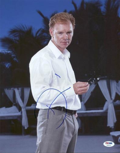 David Caruso CSI Miami Signed 11X14 Photo Autographed PSA/DNA #Y84019