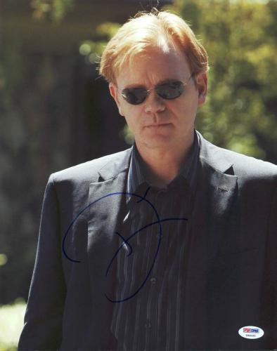 David Caruso CSI Miami Signed 11X14 Photo Autographed PSA/DNA #Y84020