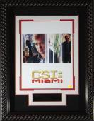 David Caruso - CSI: Miami Signed 11x17 Framed Poster
