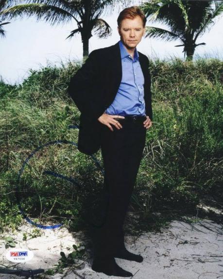David Caruso Csi Miami Signed 8X10 Photo Autographed PSA/DNA #V47056