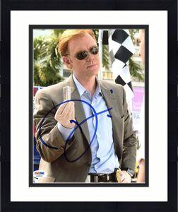 David Caruso CSI: Miami Signed 8X10 Photo Autographed PSA/DNA #X35825