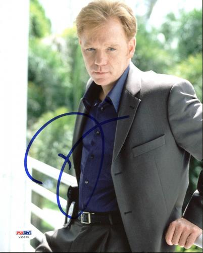 David Caruso CSI: Miami Signed 8X10 Photo Autographed PSA/DNA #X35845