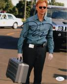 DAVID CARUSO HAND SIGNED 8x10 PHOTO         AWESOME POSE FROM CSI MIAMI      JSA