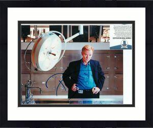 DAVID CARUSO signed (CSI: MIAMI) Horatio Caine 8X10 photo BECKETT BAS T56541