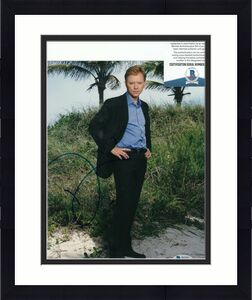 DAVID CARUSO signed (CSI: MIAMI) Horatio Caine 8X10 photo BECKETT BAS T56547