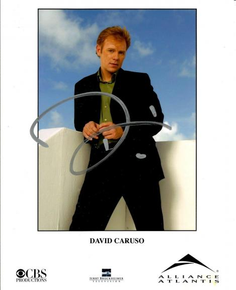 David Caruso Signed CSI MIAMI Signed 8x10 Official Photo #2