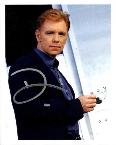 David Caruso Signed CSI MIAMI Signed 8x10 Official Photo #4