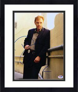 David Caruso Signed CSI:Crime Scene Investigation 11x14 Photo *Horatio Caine PSA