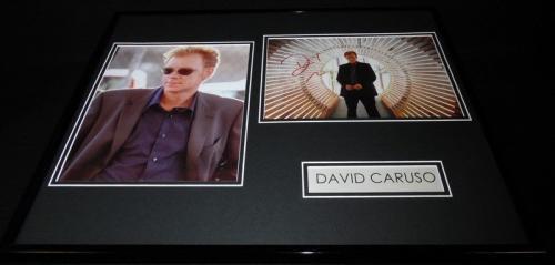 David Caruso Signed Framed 16x20 Photo Set CSI Miami