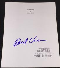 "David Chase Signed Autograph ""the Sopranos"" Full Pilot Episode Script Coa"