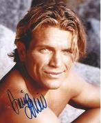 "DAVID CHOKACHI - Known for his Role in TV Series ""WITCHBLADE"", ""BAYWATCH"", and ""BEYOND the BREAK"" Signed 8x10 Color Photo"