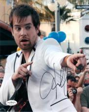 DAVID COOK Signed 8x10 American Idol Color Photo 2 JSA