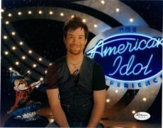 "DAVID COOK Signed 8x10 ""American Idol"" Photo JSA"