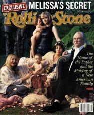David Crosby Autographed Rolling Stone Magazine UACC RD AFTAL COA
