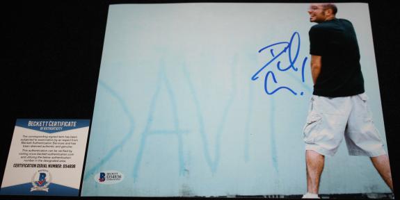 David Cross signed 8 x 10, Mr Show with Bob & David, Run Ronnie Run, Beckett BAS