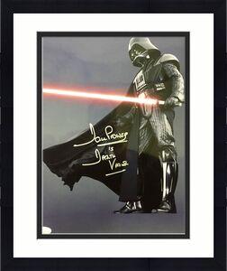 David Dave Prowse Star Wars (Darth Vader) Signed 11x14 Photo Jsa N49737