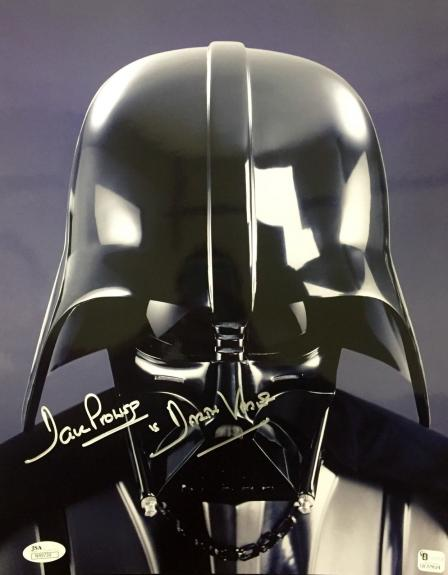 David Dave Prowse Star Wars (Darth Vader) Signed 11x14 Photo Jsa N49739