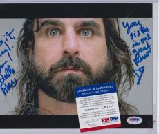 David Della Rocco Signed Autograph Auto 8x10 Psa Dna Certified