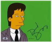 David Duchovny Simpsons Autographed Signed 8x10 Photo Beckett BAS COA
