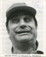David Frye Actor Comic Impressionist Of Richard Nixon ++ Signed Photo Autograph