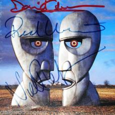 David Gilmour Nick Mason Rick Wright Pink Floyd Signed Division Bell CD PSA/DNA
