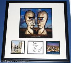 David Gilmour Nick Mason Rick Wright Roger Waters Pink Floyd Signed PSA/DNA