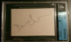David Gilmour Pink Floyd Dark Side signed Autograph AUTHENTIC JSA/BGS