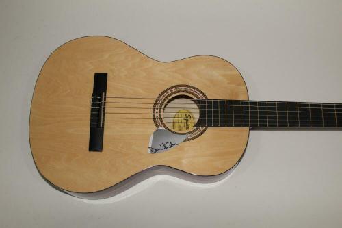 David Gilmour Signed Autograph Fender Brand Acoustic Guitar - Pink Floyd, Rare!