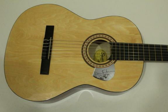 David Gilmour Signed Autograph Fender Brand Acoustic Guitar -pink Floyd The Wall