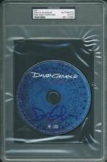 David Gilmour Signed On An Island Cd Autographed Psa/dna Slabbed