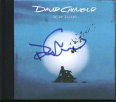 David Gilmour Signed On An Island Cd Cover W/ Disc Psa/dna #u01369