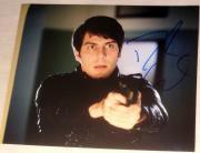 "David Giuntoli Signed Autograph ""grimm"" Intense Look Gun Action 8x10 Photo Coa"