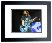 David Grohl - Dave Grohl Signed - Autographed Foo Fighters 11x14 inch Photo - Formerly with Nirvana - BLACK CUSTOM FRAME - Guaranteed to pass PSA or JSA