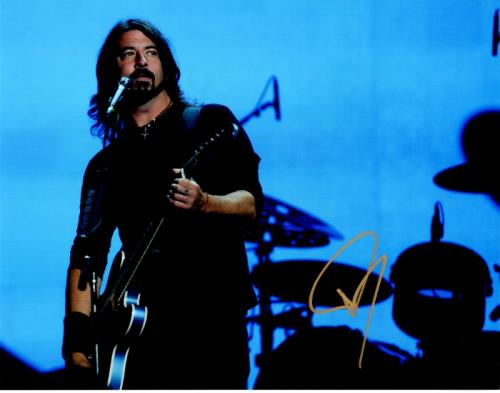David Grohl - Dave Grohl Signed - Autographed Foo Fighters 11x14 inch Photo - Guaranteed to pass PSA or JSA - Formerly with Nirvana