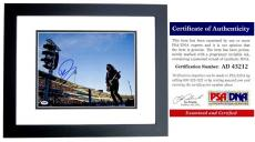 David Grohl Signed - Autographed Foo Fighters 11x14 inch Photo - Formerly with Nirvana Dave Grohl - BLACK CUSTOM FRAME - PSA/DNA Certificate of Authenticity (COA)