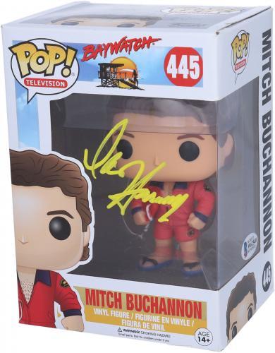 David Hasselhoff Baywatch Autographed Funko Pop!
