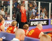 David HasselHOFf Dodgeball Signed 11X14 Photo PSA/DNA #I86164