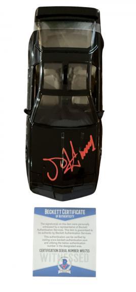 "David Hasselhoff ""knight Rider"" Autograph Signed Kitt 1:24 Diecast Car Beckett 3"